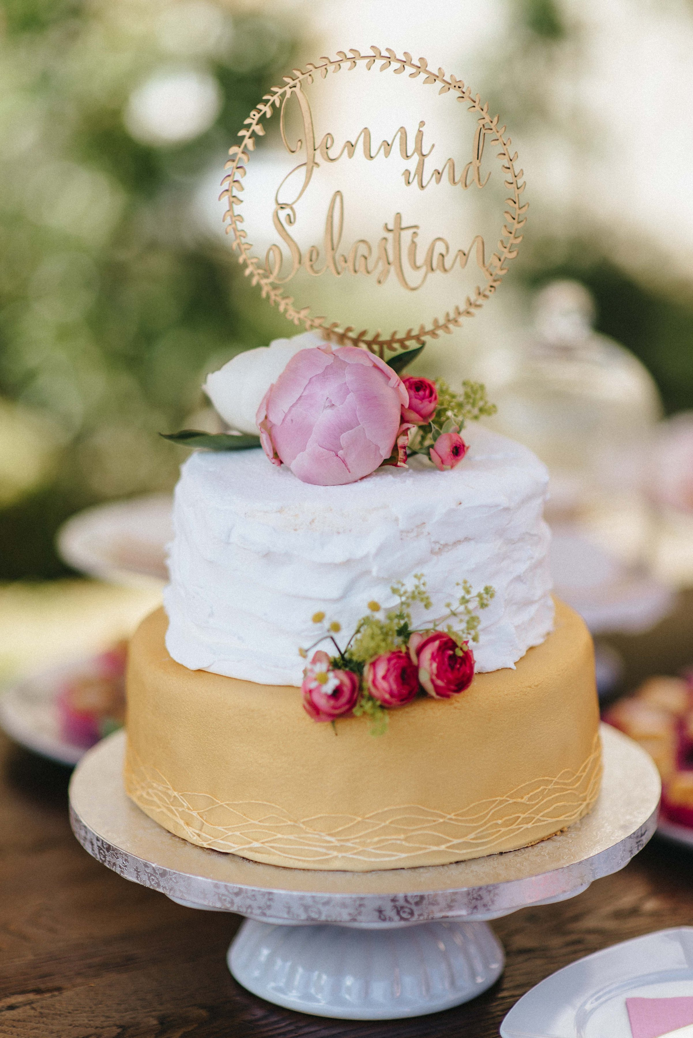 wedding cake Hochzeitstorte monsieurmuffin Foto: kreativwedding