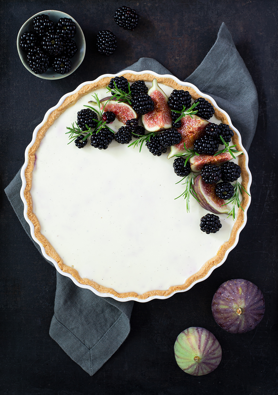 recipe | blackberry tarte | Brombeertarte mit Vanillecreme | Rezept | © monsieurmuffin.de