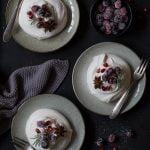 Mini-Pavlovas mit gezuckerten Cranberries – meine Challenge mit Liz&Friends