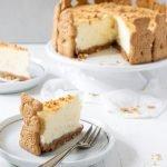Spekulatius Cheesecake – der perfekte Weihnachtskuchen. Super cremig und schnell zubereitet.